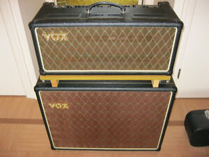 Vox AC30 Amp Head and Vox 2x12 Bottom