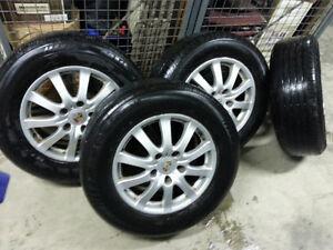 235/65/17 Porsche Cayenne Rims & Summer Tires