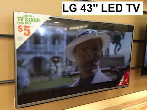 "VARIOUS 40"" – 43"" LED TV's – STARTING AT $240.00"