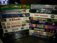 LOT OF (31) CLASSIC DISNEY MOVIES AND MORE TITLES VHS