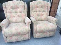 LA-Z-BOY 2 wing back chairs