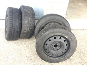 Winter/Snow Tires 205 55 R16 with Rims