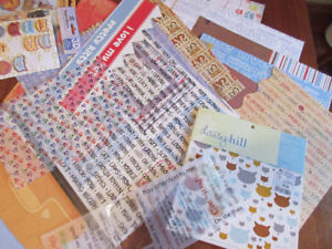 Everything for scrapbooking cats