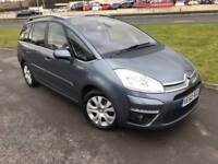 2010 Citroen Grand C4 Picasso 1.6 eHDI Exclusive-FCSH- New MOT- Only 57000 Miles