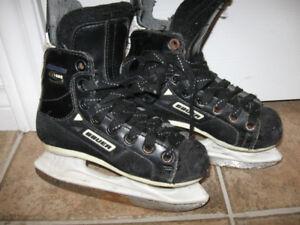 Bauer Hockey Skates-Youth Size-Used