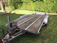 Bateson. Transporter trailer