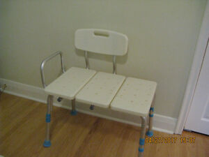 Over tub chair