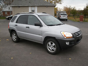 2007 Kia Sportage LX: Yes Only 84Kms, 4WD,Like New,Must See! Oakville / Halton Region Toronto (GTA) image 4