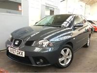 Seat Ibiza 1.2 12v Reference Sport 3dr LOW MILEAGE + FULL SERVICE HISTORY