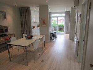 Bel appartement meublé (2 ch) à Rosemont