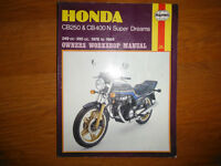 1978-1984 Honda CB250 CB400N Superdreams Service Manual