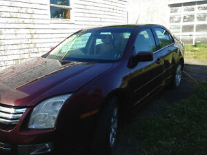 2007 Ford Fusion awd for parts