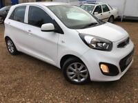 2014 '14' Kia Picanto 1.0 VR7. Petrol. Manual. Cat D Repaired. Px Swap