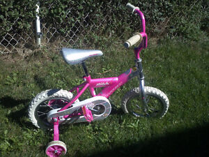 AVIGO KIDS BIKE -Pink with Training Wheels! (Boys or Girls Bike)