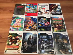 Various Uncommon Wii Games