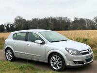 LEFT HAND DRIVE 2005 [55] VAUXHALL OPEL ASTRA 1.9 CDTi MANUAL 5DR SILVER LHD