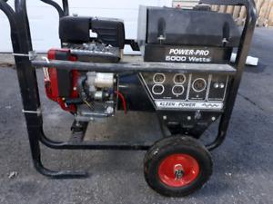 Génératrices Honda 9.0GX270 5000 watts