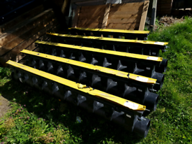 Aco Q Max 150 composite edge rail drain F900 drainage job lot. 9.6mtrs