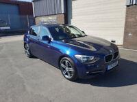 2013 BMW 118d 1 SERIES 2.0TD 5 DOOR SPORT ONLY 28,685 MILES WARRANTED