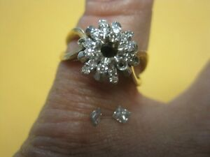 diamond cluster ring London Ontario image 1