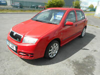 SKODA FABIA VRS 5 DOOR MANUAL DIESEL 130 BHP