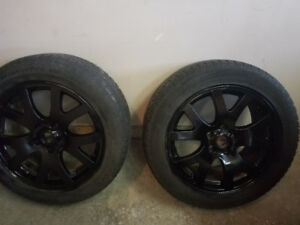 Range rover winter tires and rims 2002 -2012