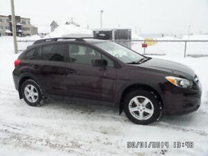 Subaru xv crosstrek 2013 manuel réduit