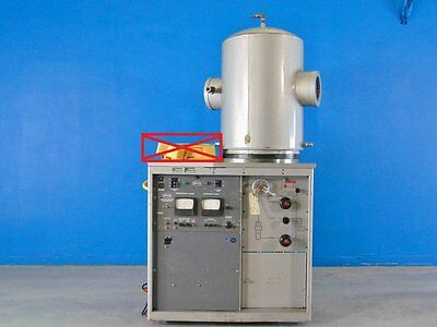 Veeco Vs400 High Vacuum Thermal Evaporator W Welch 1397 Duo Seal Vacuum Pump