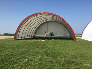 Fabric Aircraft Hangars