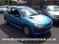 2002 Peugeot 206 1.4 HDi Style 3dr