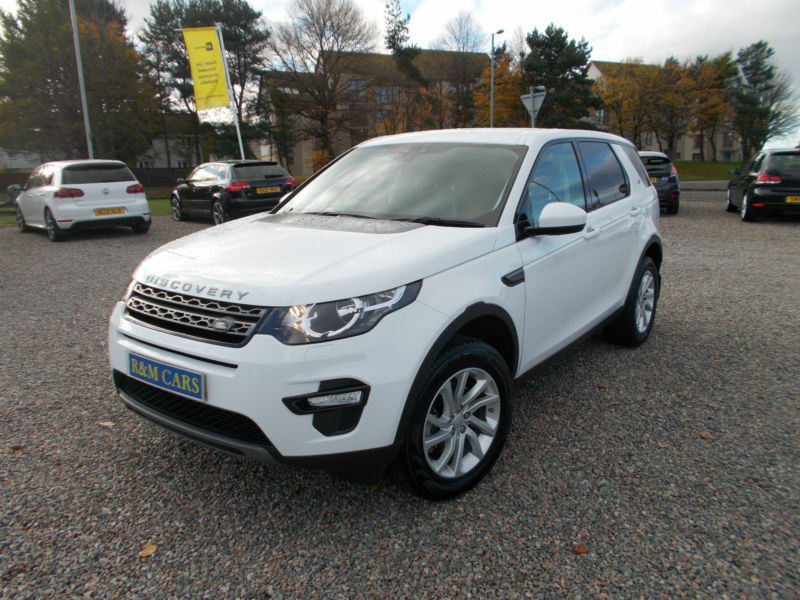 17/17 Land Rover Discovery Sport 2.0TD4 ( 180ps ) 4X4 ( s/s ) Auto SE Tech