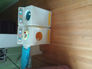 Vintage Little Tikes Washer& Dryer with Ironing Board and Iron