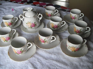 OLD CUPS AND SAUCERS - new price