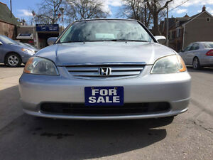 2002 Honda Civic LX-G Sedan ***LOW KMS***POWER GROUP***