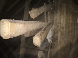 Old solid barn beams for sale