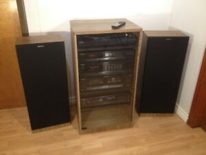 Sony HST-190 Home Stereoand Rack/Shelve