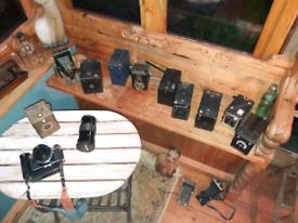Assorted Vintage Cameras