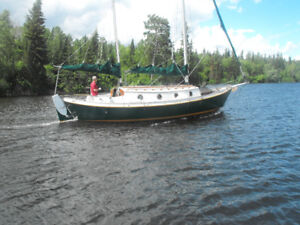 Spacious, simple, easy to sail boat.