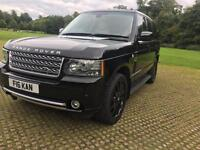 2009 RANGE ROVER 3.6TD V8 VOGUE FULLY LOADED FULL SERVICE ONE OWNER DIGI DASH