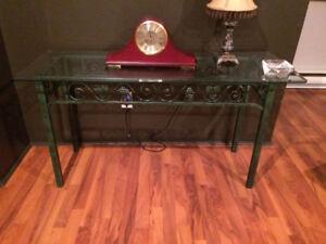 Table de salon et console