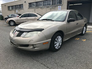 2004 PONTIAC SUNFIRE AUTOMATIQUE  1100$ TPS INCLUS