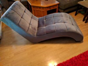 FS: Grey Chaise Lounge