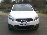 Nissan Qashqai 360 1.6 (white) 2013