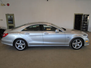 2012 MERCEDES CLS550 4MATIC 94,000KMS! NAVI! MINT! ONLY $29,900!