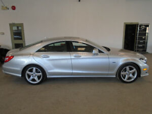 2012 MERCEDES CLS550 4MATIC 94,000KMS! NAVI! MINT! ONLY $33,900!