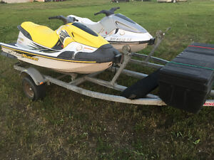 2000 Yamaha GP800 & 1997 GP760 & Double Trailer TRADES?