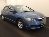 2010(60) HONDA CIVIC IMA ES AUTO HYBRID(1 OWNER)CAN PCO SERVICE HISTORY NOT TOYOTA PRIUS OR INSIGHT