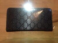 Gucci and Armani purses