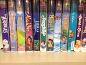 Thrifty Friends Boutique  VHS Movies 2 for $1.00