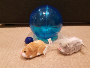Zhu Zhu Toy Pet Hamsters